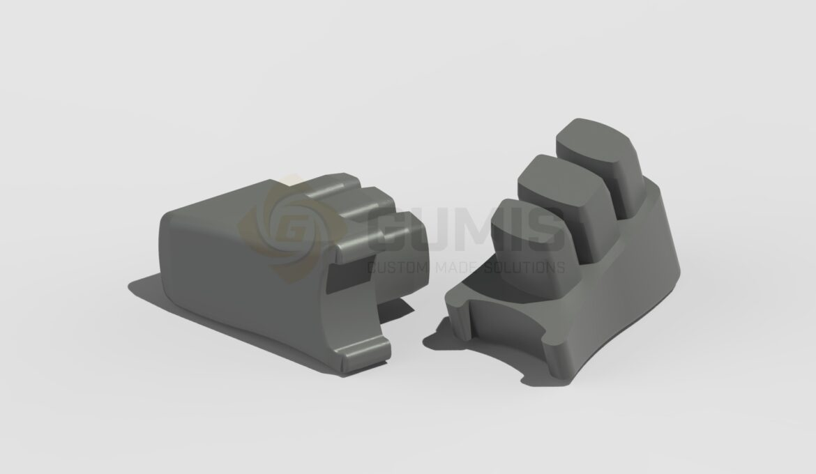 Heavy Duty Rubber Plug for Lounge Chair