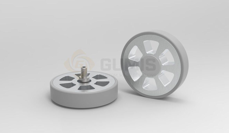 Aluminum Sunbed Wheel