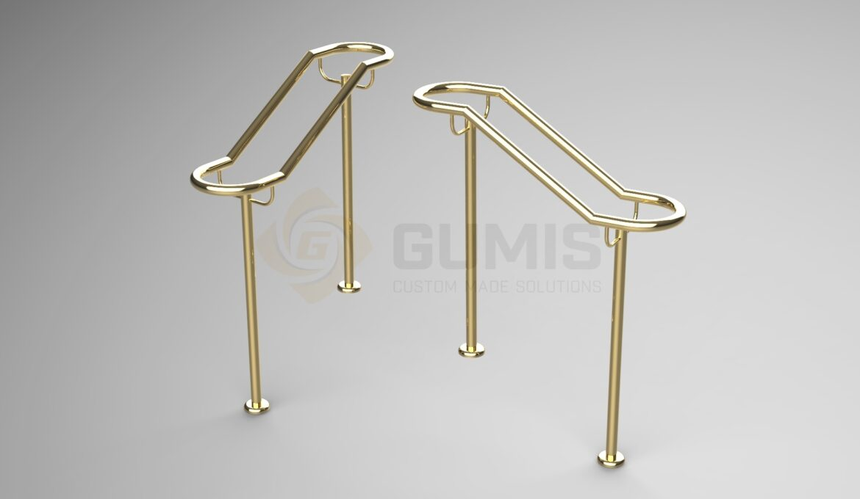 Brass Theater Railing type 1