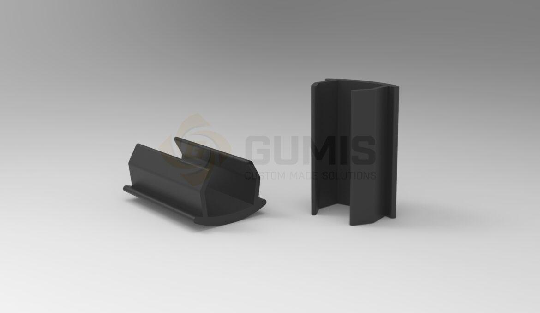 Plastic Gasket for Aluminum Handrail
