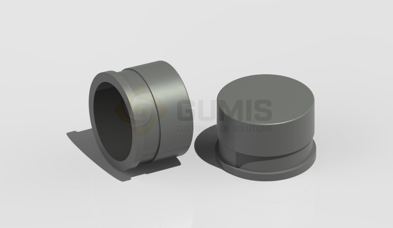 DN50 Vacuum Hose Rubber Plug