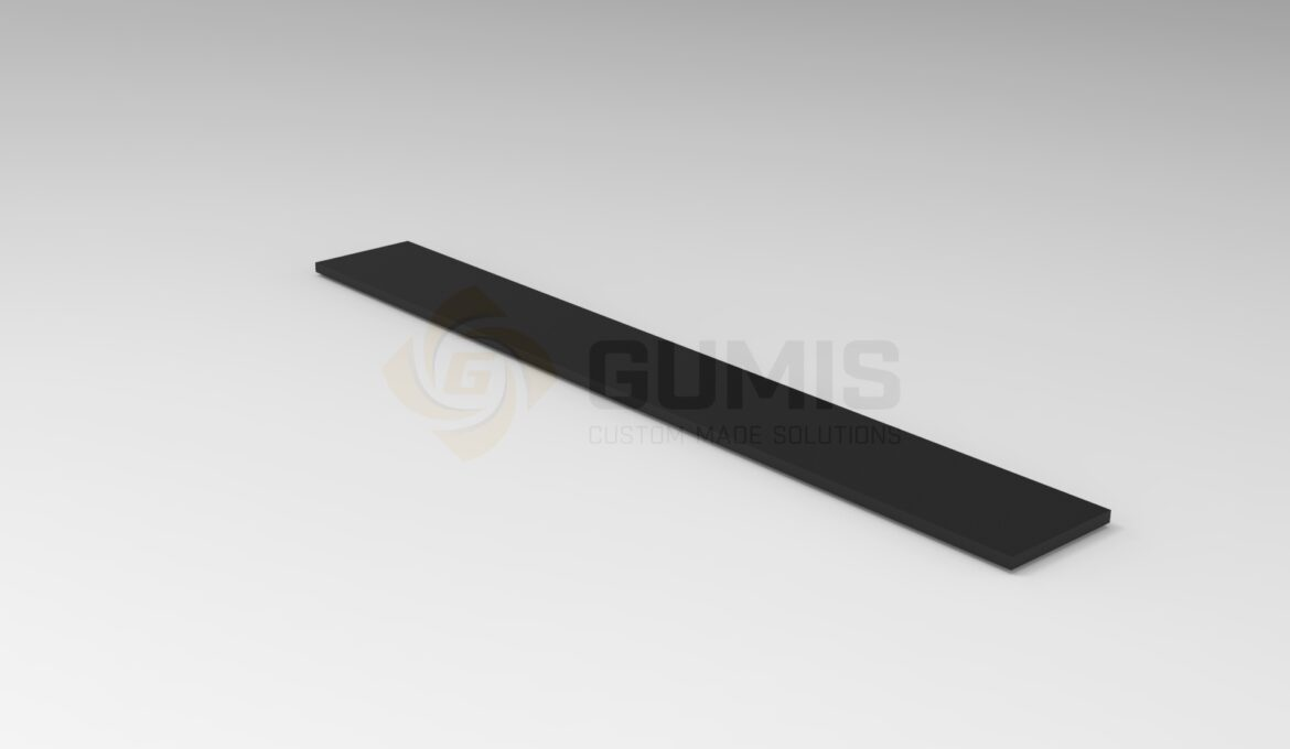 Rubber Anti-Slip Profile for Outdoor Stairs