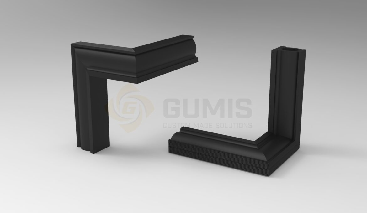 Rubber Packing for Shell Door, elbow