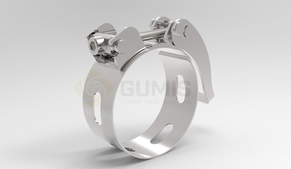 Stainless steel quick release clamp