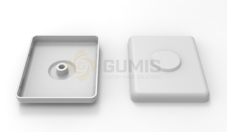 Toilet vacuum push button GJ770