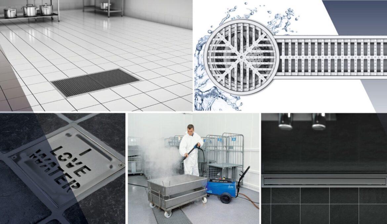 Blucher floor drains and channels