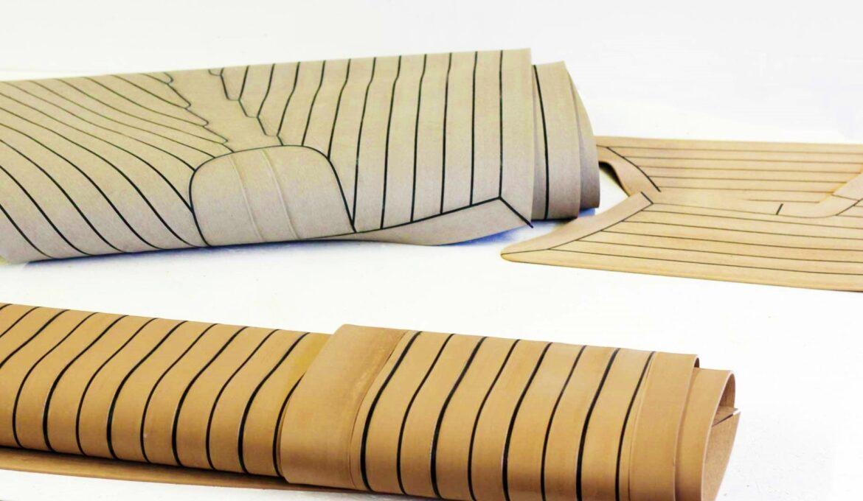 Composite teak decking