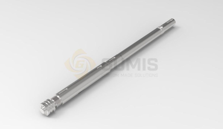 Custom made shaft