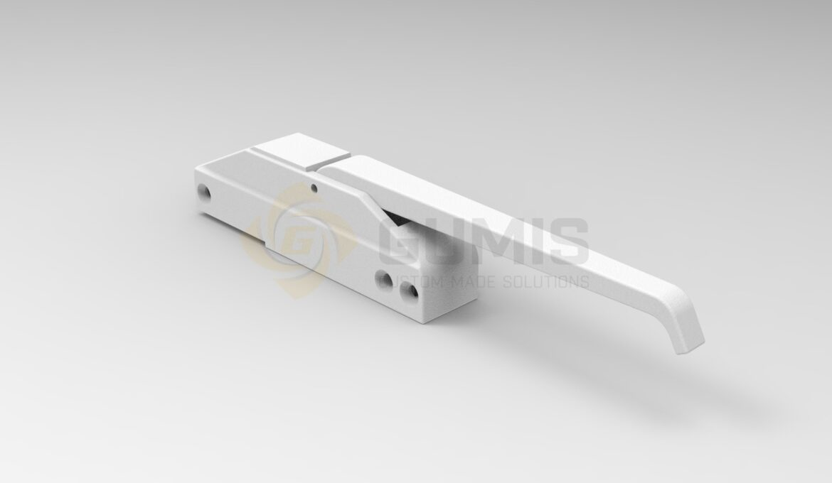 Hatch handle in white