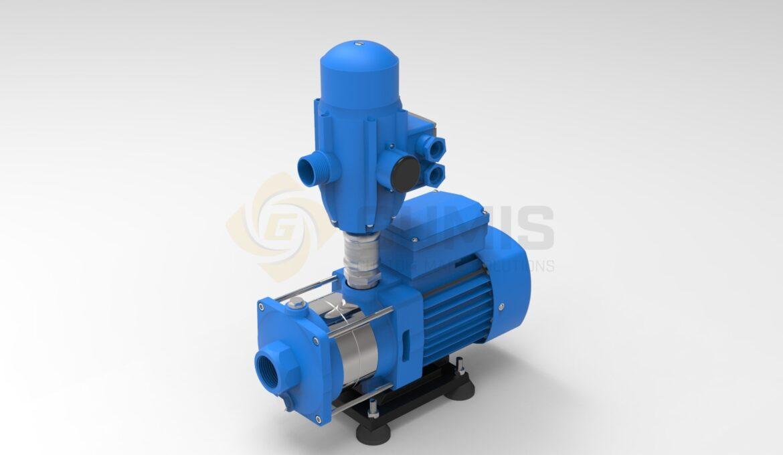 Hot tub water pump