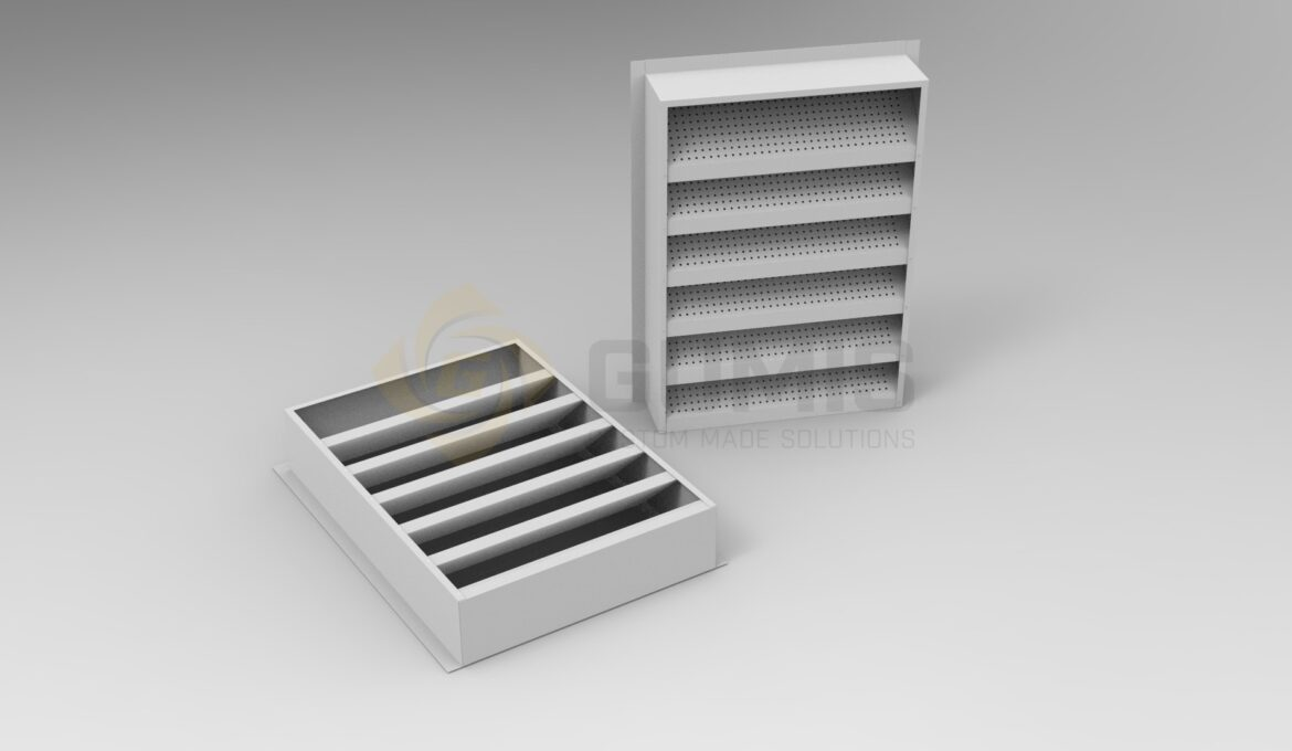 Louver grill